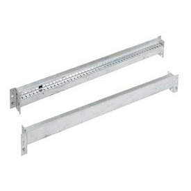 Interlake - Galvanized Tear Drop Pallet Rack Beams