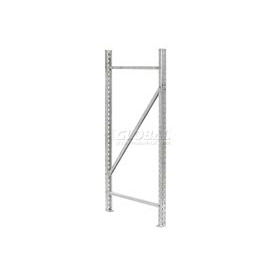 Interlake - Galvanized Tear Drop Pallet Rack Upright Frames