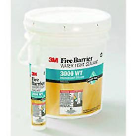 3M™ Fire Barrier Water Tight Silicone Sealant 3000 WT, 4.5 Gallon Pail