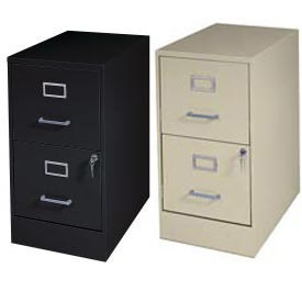 file cabinets | vertical | mbi - 2 drawer vertical steel files 22