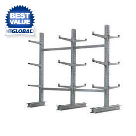 MECO (1000 Series) Complete Cantilever Rack - 16200 Lb Max. Capacity