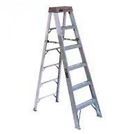 Louisville Aluminum Step Ladders