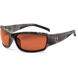 Ergodyne 51320 Skullerz Thor Safety Glasses, Typhon/Copper Lens Package Count 12 by