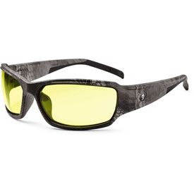 Ergodyne 51350 Skullerz Thor Safety Glasses, Typhon/Yellow Lens Package Count 12 by