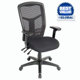 Interion® Multifunction Premium Mesh Back Office Chair