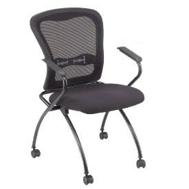 Interion® Web Mesh Nesting Chair