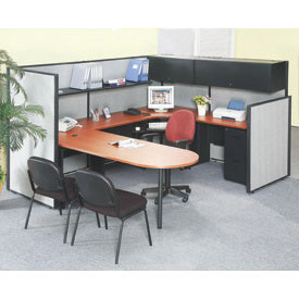 Interion™ - Office Cubicle Partition Furniture