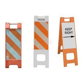 Narrowcade® & Minicade® Folding Traffic Barricades/Sign Stands