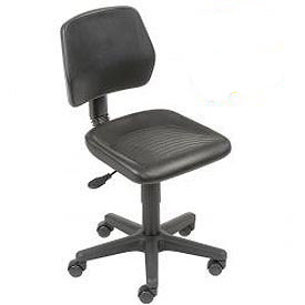 Interion® - Industrial Polyurethane Pneumatic Height Adjustable Chair