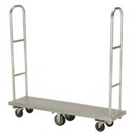Aluminum Deck Narrow Aisle High End Platform Trucks