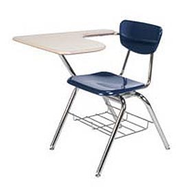 Virco® Martest 21® School Chair Desk With Curve Top
