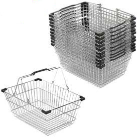 Wire Mesh Shopping Baskets