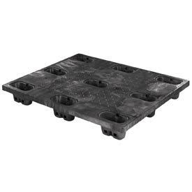 Buckhorn™ Nestable Structural Plastic Pallets Static Capacity 30000 Lbs.