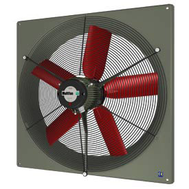 Heavy Duty Corrosion Resistant Exhaust Panel Fans