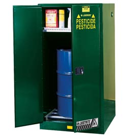 Justrite® Pesticide Vertical Drum Storage Cabinet