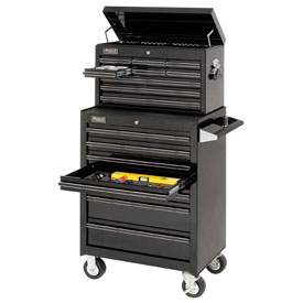 Professional Series Black Finish Tool Storage