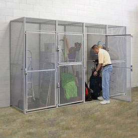 Hallowell® Bulk Tenant Storage Lockers