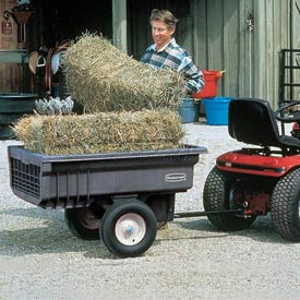 Rubbermaid® Lawn Tractor Carts