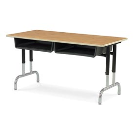 Virco® - Twin Box Desk