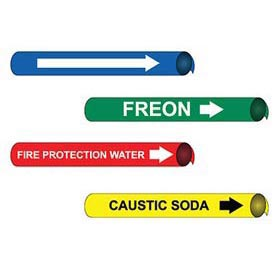Precoiled And Strap-On Pipe Markers For 6