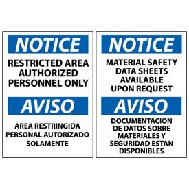 Multilingual Notice Signs