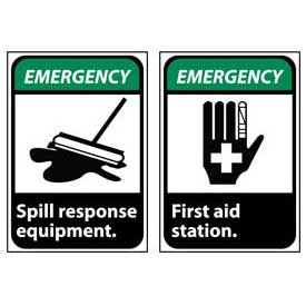 Ansi Emergency Signs