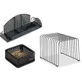 Metal & Wire Desktop Organizers