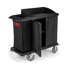 Rubbermaid® Compact Housekeeping Cart with Doors 6192
