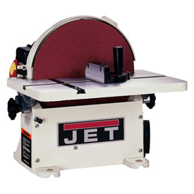"JET 708433 JDS-12B 1HP 1-Phase 115/230V 12"" Bench Disc Sander less DC"
