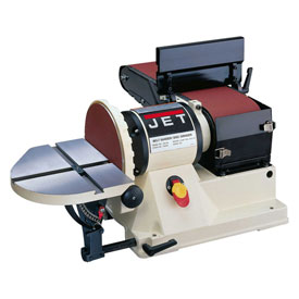 "JET 708595 Model JSG-96 3/4HP 1-Phase 115V 6"" x 48"" Benchtop Belt / 9"" Disc Sander"