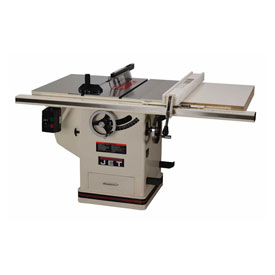 "JET 708676PK 5HP 1-Phase 30"" Rip 10"" Deluxe XactaSaw Table Saw"