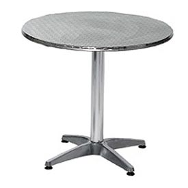 Round 24 Inch Stainless Steel Table