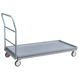 Raised-Edge Steel Deck Platform Trucks