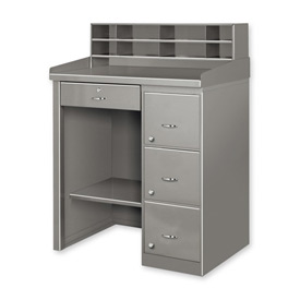 Single And Double Pedestal Shop Desks