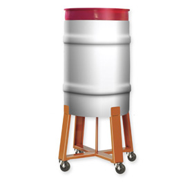 Pucel™ Elevated Height Drum Dollies