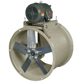 Tube Axial Belt Drive Duct Fan For Dry Environment