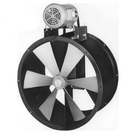 Explosion Proof Tube Axial Belt Drive Duct Fan For Wet Environment