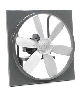 High Pressure Direct Drive Wall Exhaust Fans