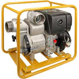 Industrial Engine Driven Trash Pumps