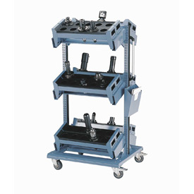 Rousseau 3 Level Mobile Tool Carts