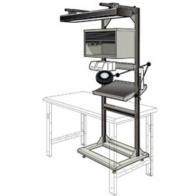 Rousseau Multi-Purpose Electronic Work Stand