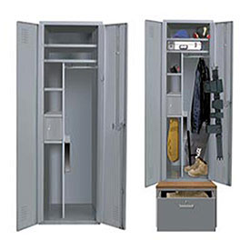 All-Welded Emergency Response Heavy Duty Lockers