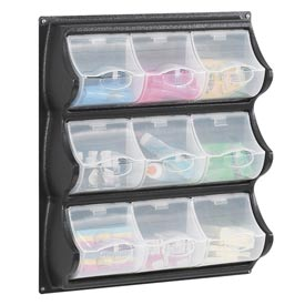 Wall Mount Plastic Panel Bins