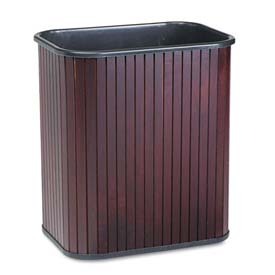 Advantus® Hardwood Wastebaskets