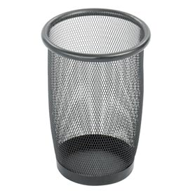 Onyx™ Wire Mesh Wastebaskets