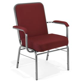 OFM -  Big & Tall Fabric Upholstered Arm Chair