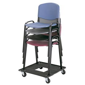 Safco® - Stacking Chair Cart