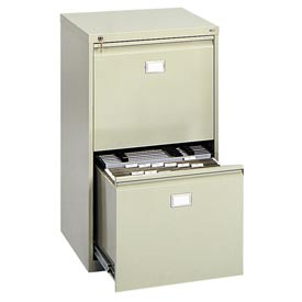 Safco® - 2-Drawer Vertical File Cabinet
