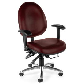 OFM -  Deluxe Anti-Microbial High Back Computer Task Chair