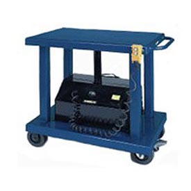 Wesco® Battery Operated Work Positioning Post Lift Table 261107 6000 Lb.